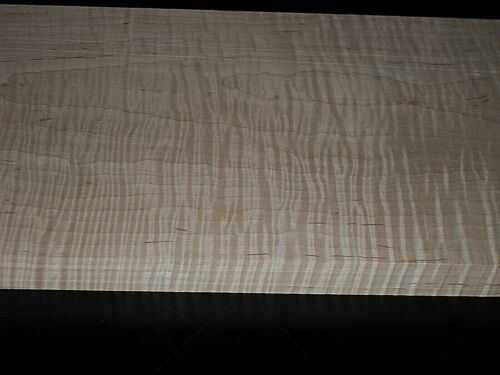 """4/4 XXEXTREME CURLY TIGER MAPLE   lumber  46"""" x 8 7/8"""" x 7/8+"""""""