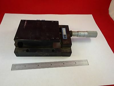 Microscope Part Positioning Ardel Kinamatic Micrometer Stage As Is Binf8