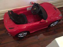 Ferrari kids car. Grange Charles Sturt Area Preview