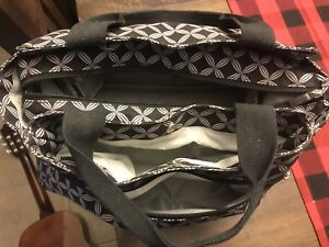 Diaper bag with jolly jumper change pad - lots of pockets