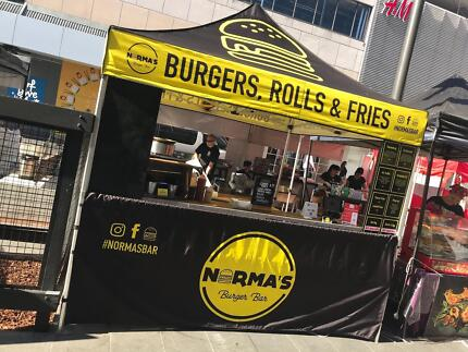 ***BUSY BURGER STALL FOR SALE***