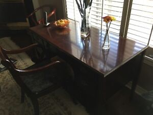 Beautiful Elegant Fancy Desk with Matching Chair