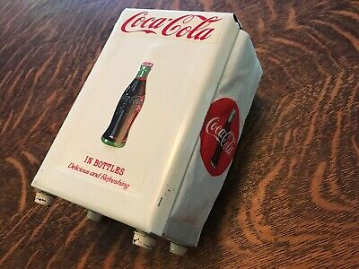 Coca Cola Vintage Gemco Stainless Steel Napkin Holder