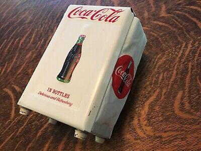 Coca Cola Vintage Gemco Stainless Steel Napkin Holder