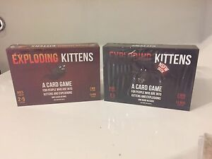 EXPLODING Kittens original or NFSW(Adult) Card Game. New.