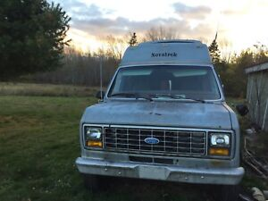 83 ford camper. Runs. 400$ don't waste my time