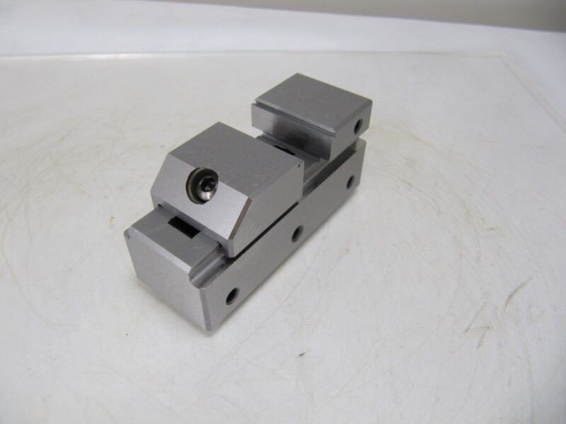 "PRECISE 1"" VISE TOOLMAKER STAINLESS STEEL 0.0002""  VI Taiwan made"