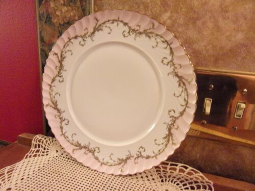 RARE Royal Tettau ELEGANCE ROSE Pink (GOLD TRIM) Dinner Plate Multiples BNOS
