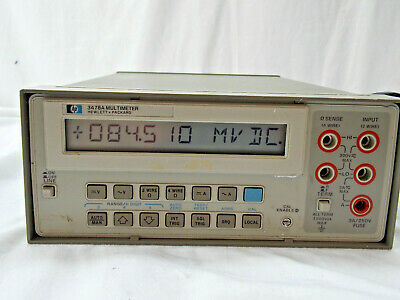 Hp 3478a Digital Mulitmeter