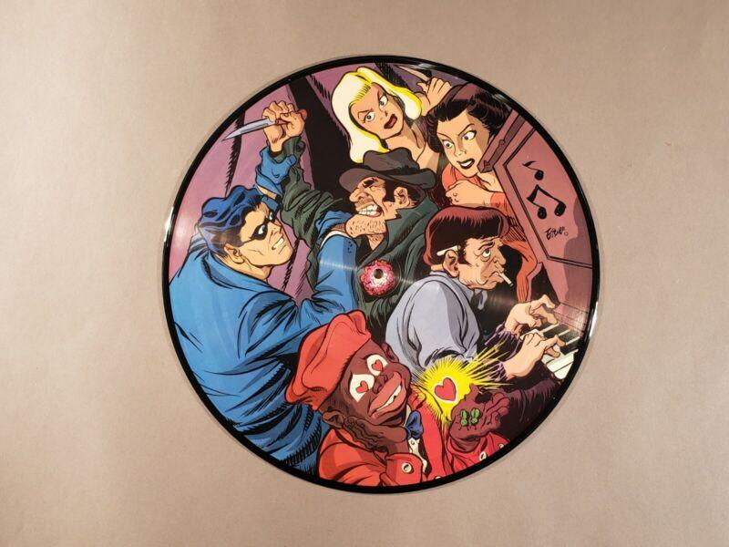 Will Eisner The Spirit 1989 Picture Disc Vinyl LP Ev