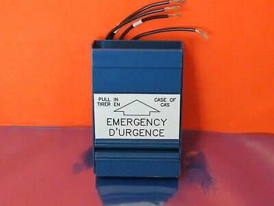 Est Edwards 275-spb Emergency Alarm Pull Station English French