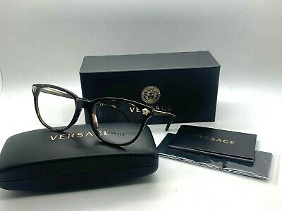 Versace Women New Eyeglasses OVE 3242A 108 TORTOISE/GOLD 54-18-140MM (Women Prescription Glasses)