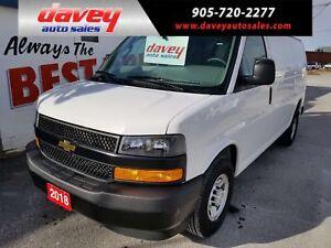 2018 Chevrolet Express 2500 Work Van BACK UP CAMERA, POWER WI...