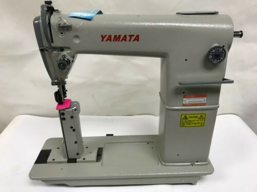Yamata FY810 Post Bed Industrial Sewing machine with Roller Foot