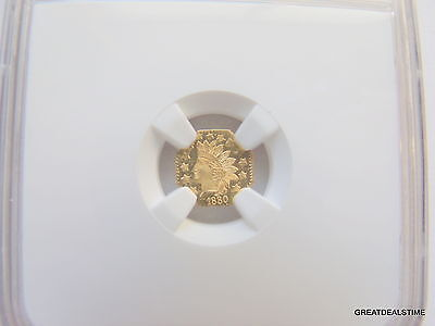 Click now to see the BUY IT NOW Price!  GOLD 1880 OCTAG INDIAN HEAD G50C 50C,NGC MS65 PL,OCTAGONAL COIN,1/2 DOLLAR