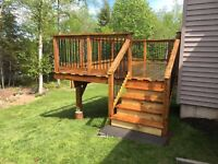 Decks and fences by professionals.