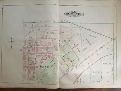 1899 LANCASTER CITY & COUNTY PENNSYLVANIA  MCGRANN