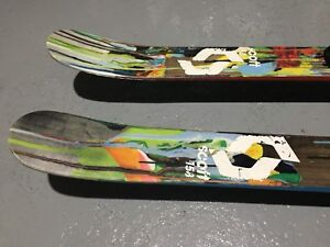 Ski alpin twin-tip