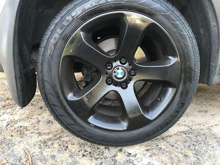 BMW X5 stagged 19inch rims