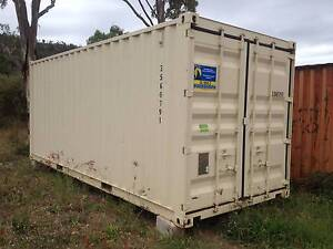 Cream Coloured 20ft Shipping Container Townsville Townsville City Preview