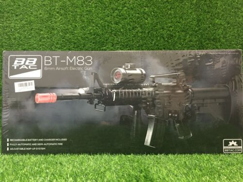 BBTac M83 Airsoft Gun Electric Rifle Full/Semi Automatic with Accessories TOY