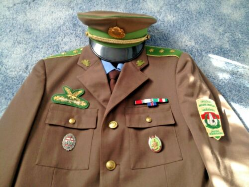 Hungary Border Guard Captain Uniform, 2 Shirts, Cap, Original EU shipment USD 35