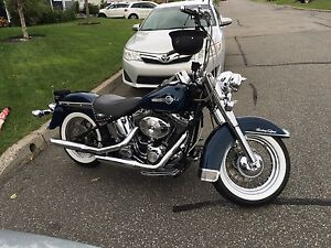 Harley softail heritage classic flstc 2002