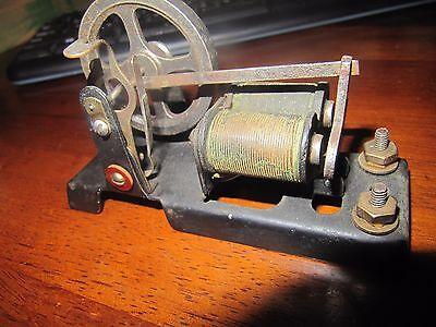 Small Antique Circa-1900 Miniature Cast Iron Electric Motor