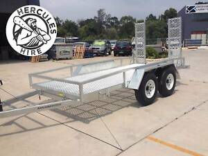 HERCULES HIRE - 3.5T Plant or small vehicle trailer for hire