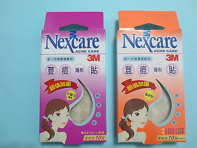 3M NEXCARE ACNE CARE DRESSING Acne absorbing covers Pimple Sitcker see options