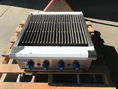 Radiant Broiler Commercial 24 Royal Range Snack Rsrb-24 Broiler