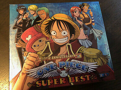 One Piece Anime 10th Anniversary Super Best 2CD+DVD (GREAT
