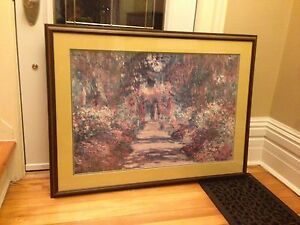 Beautiful wood picture frame.