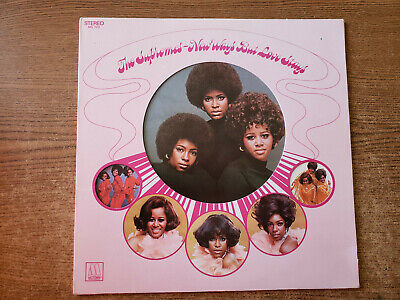 1970 MINT-EXC The Supremes – New Ways But Love Stays MS 720 LP33