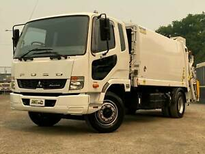 Fuso Fighter 1424 | Rear Load Compactor | Automatic Windsor Hawkesbury Area Preview