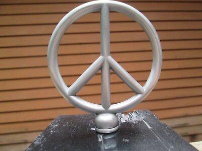 peace sign hippy ban the bomb ratrod hotrod car hood - Peace Sign Ornaments