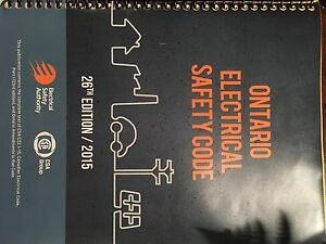 To sell ontario eletrical safety code book