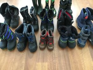 Boots (sizes 5 - 12) Children-Prices Vary