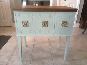 Up Cycled Sewing Table