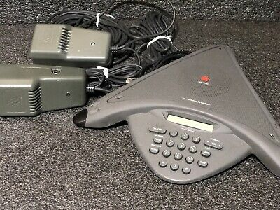Polycom Soundstation Premier Conference Phone 2201-01900-001 W Mics Adapter