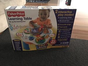 Fisher price learning table Kotara Newcastle Area Preview