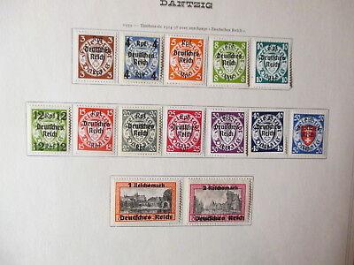 Sammlung Deutsches Reich Postfrisch/Falz bis 1945!!