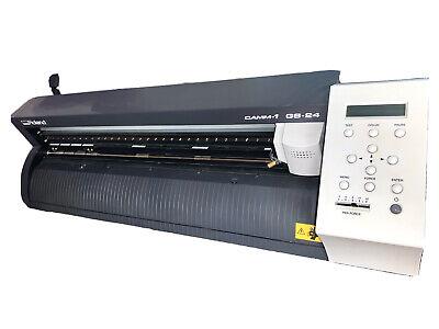 24 Roland Gs-24 Vinyl Cutter Cutting Plotter Camm-1 Professional