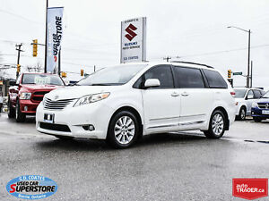 2011 Toyota Sienna Limited AWD ~7 Passenger ~Nav ~DVD ~Heated Le