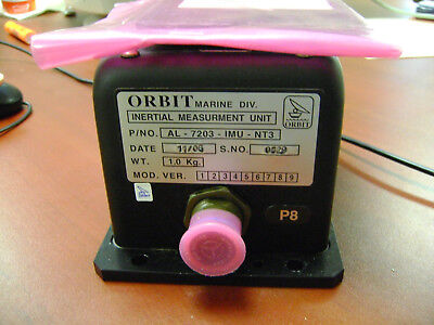 Orbit Marine Al-7203-imu-nt3 Inertial Measurements Unit For Orbit Cs Systems