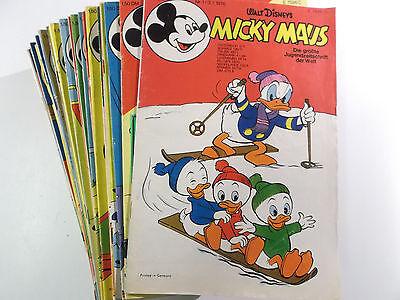 Micky Maus Comic Sammlung 1976 # 1 - 52 komplett mit fast allen Beilagen