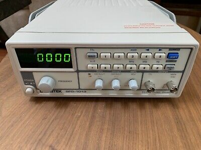 Gw Instek Sfg-1013 Dds Function Generator With Voltage Display 3 Mhz