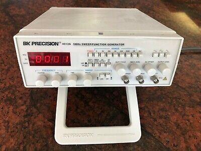 Bk Precision 4012a 5 Mhz Sweepfunction Generator. Free Shipping.