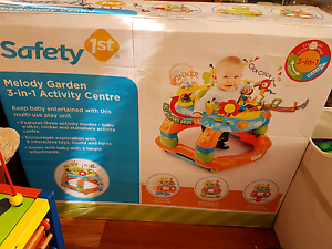 Safety 1st Melody Garden 3-in-1 Activity Center Playcenter Baby Spotswood Hobsons Bay Area Preview