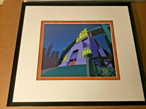 Pinky & the Brain ORIGINAL PRODUCTION BACKGROUND obg main title cel animaniacs
